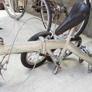 ばらばらにした自転車の防犯登録は抹消できるか?折りたたみ自転車をメルカリで処分する方法