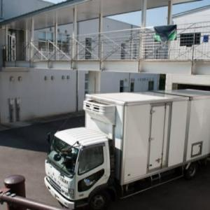 徳島県を走る殺処分トラック