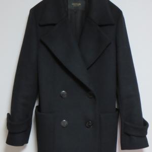 【50代・骨格ストレート・ブルベ冬】Rakuten Fashionで黒のピーコートを買い替え