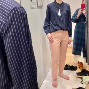 ビジネスファッションのショッピング同行レポ