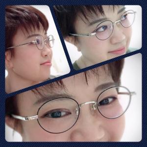 小柄さんに似合うメガネ