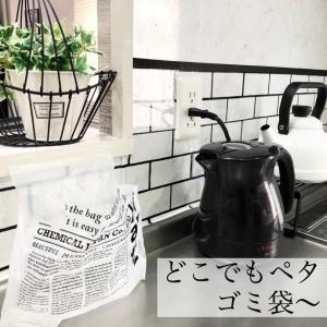 【DAISO】大人気!どこでもペタッとゴミ袋で快適に♡