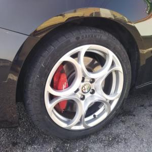 ネットで1本だけタイヤを購入