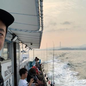 大阪湾テンヤタチウオ2019夏