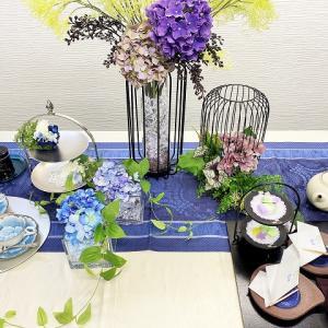紫陽花が美しい♪ディプレイのご紹介♪♪