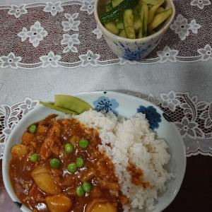 祖父母時代の鯖缶カレーと秋野菜の植え付け