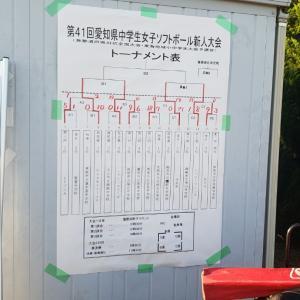愛知県中学生新人戦