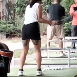 ゴルフ練習場に 中国人が 増えたぞ