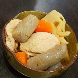 鶏肉と筍の煮物