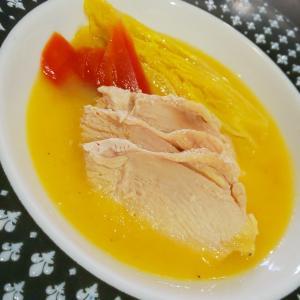 鶏むね肉と白菜のエチュベ