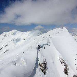 下界から天界   続き雪山編