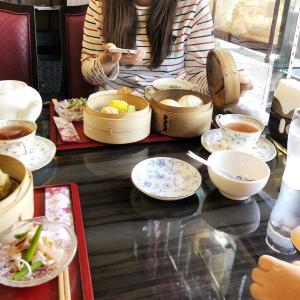 友人との楽しい一日。飲茶からのお好み焼き