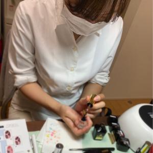 【名古屋市北区 春日井市 豊山町ネイルスクール】ココイストデザインセミナーを開催しました!