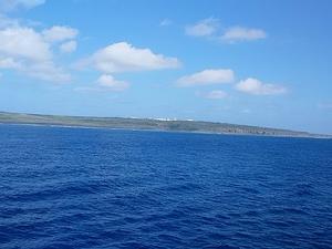 硫黄島 北硫黄島 鳥島 ソウ婦岩 等 見ました