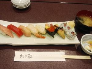 松栄寿司東口店 ランチ行きました