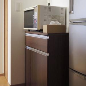 食器棚を捨てました