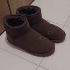 ブーツを捨て、冬の靴は3足