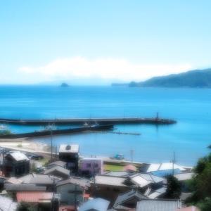小さな漁港を上から見たくなった