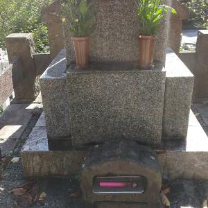 母方のお墓参り