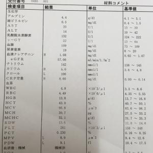 オプジーボ31〜32回治療入院+階段