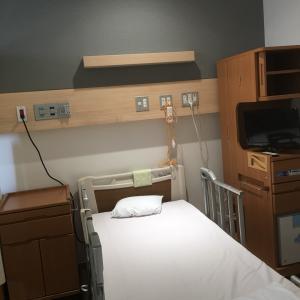 新しい病院で治療入院