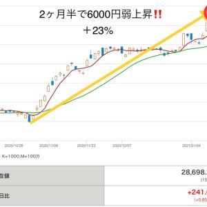 日経平均株価29,000円手前で失速!押し目はどこまで?