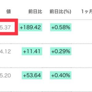 【祝】NYダウ33,000ドル突破!日経も3万円超えでバイアンドフォゲットだ!