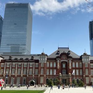 【春の東京駅】お上りさん気分で東京駅周辺を散策♪