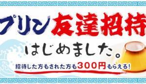 pring(プリン)「招待しても、されても300円もらえる!友達招待キャンペーン」