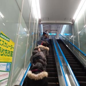 エレベーターは歩くべきではない!!