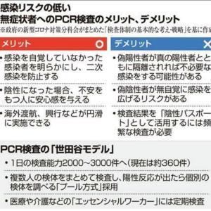 「世田谷モデル」は「世田谷区医師会PCR検査センター」とは無関係だった!!