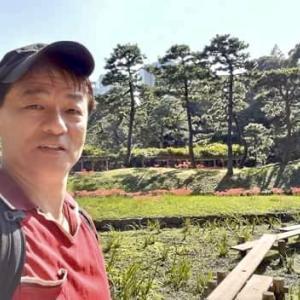 水戸黄門ゆかりの名園「小石川後楽園」へ曼殊沙華を見に行ってきました。