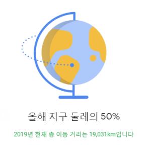 [雑談・猫] 2019年、地球の直径の半分くらいを移動したみたいです!?