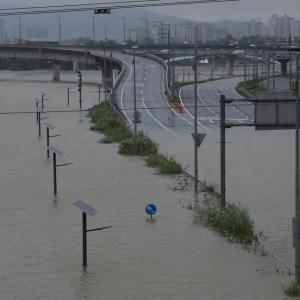 [韓国ニュース] 大雨の後、洪水で困っている韓国