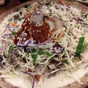 [韓国グルメ] 大皿そばが食べたいからポサムを食べに行こう!