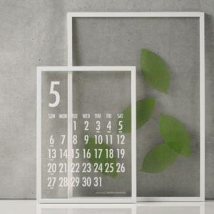 【購入品】透明カレンダー