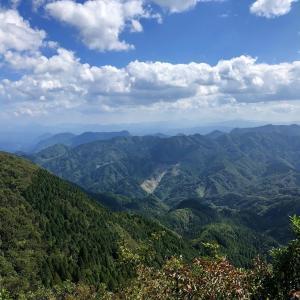 九州百名山3.4    犬ヶ岳 求菩提山
