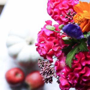 10月のお花屋さん