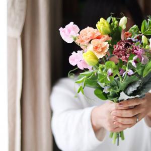 ★お家時間に飾るお花達♪