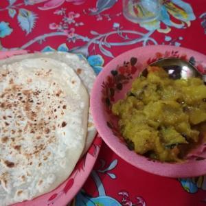 バングラでの朝御飯