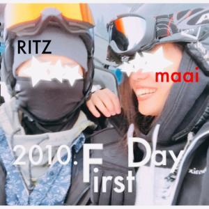 RITZとmaaiのお戯れ。