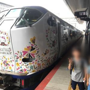 京都駅にてハローキティはるかに遭遇! *夏休み京都鉄道旅⑨*