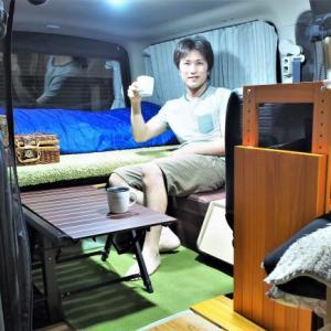 NV350キャラバン車内に自作棚取付&車内模様替え!