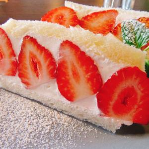 waldocafeの絶品期間限定まりひめ苺サンドイッチを紹介!