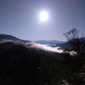 上信越秋旅行4日目・雲海を見に行こう
