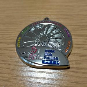 SRメダルが届きました(2020年参加ブルベまとめ)