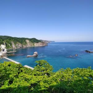 北海道自転車旅2日目・海無し県民は海を見ると喜ぶ