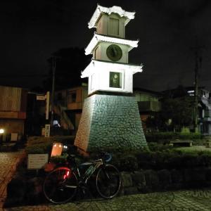 7週間ぶりの自転車(ナイトライド)