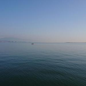 今朝のエビメタルでの釣行・5