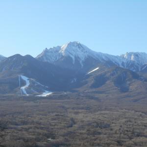 今年初の八ヶ岳へ